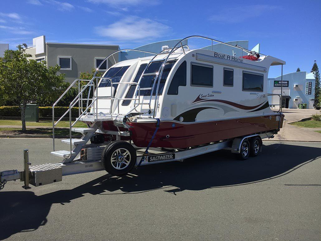 Home Boatahome Trailerable Houseboats Boat A