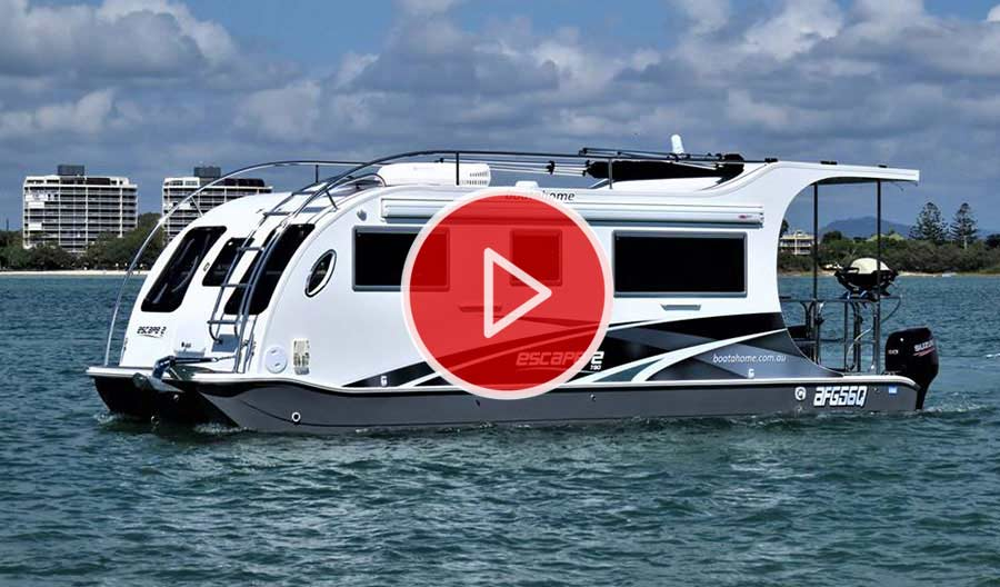 Home | Boatahome - Trailerable Houseboats - Boat A Home
